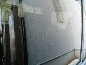 使用前の窓ガラス