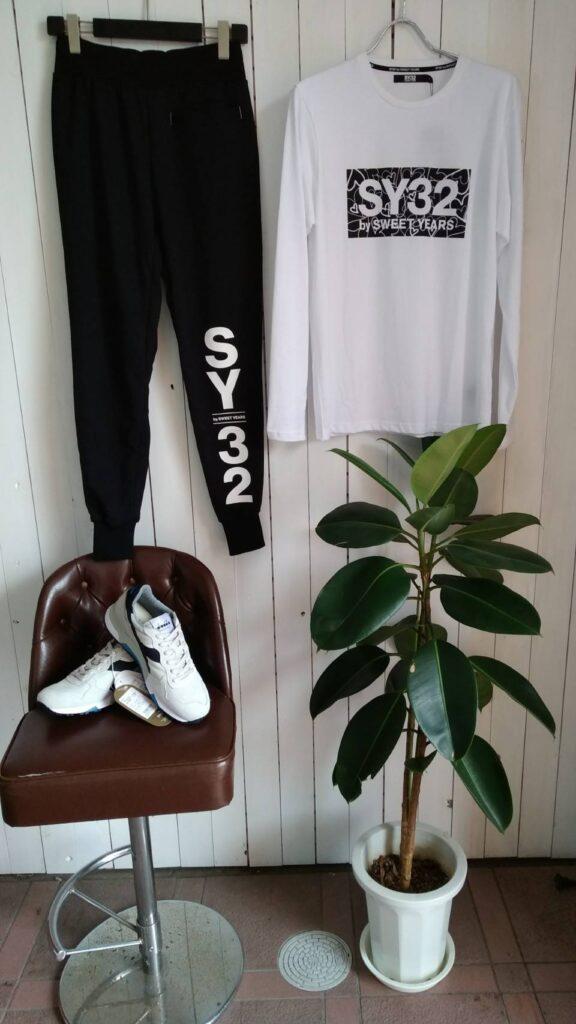 SY 32 新作パンツ
